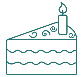 Cake Decorating Icon